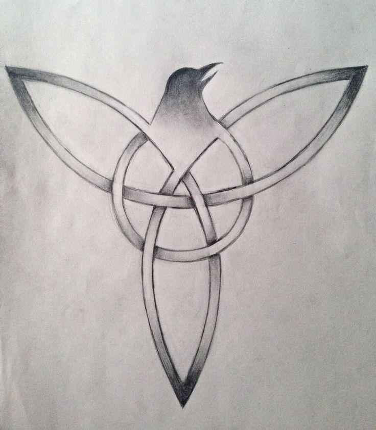 Trinity Tattoo Design by Vampiretard