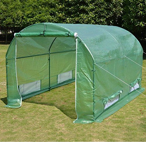 special offers new benefitusa hot green house 10x7x6 larger walk in outdoor canopy gazebo plant - Green Canopy 2016