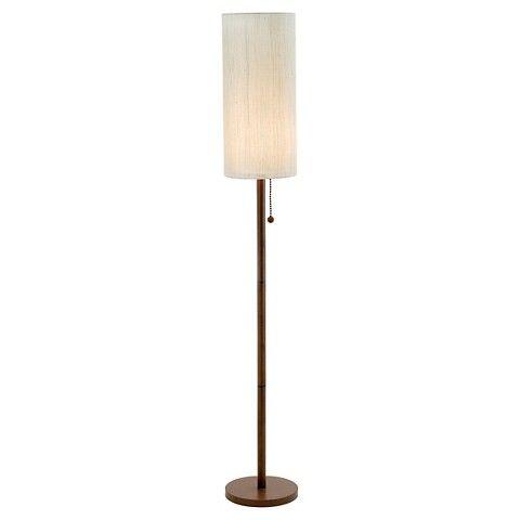 Adesso Hamptons Floor Lamp - Natural