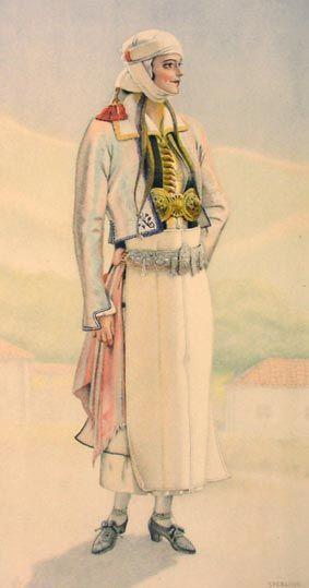 TRAVEL'IN GREECE I Bridal Dress (N.Epirus, #Pogoni)