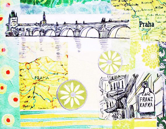 Prague Limited Edition Print by stephanielevy on Etsy.