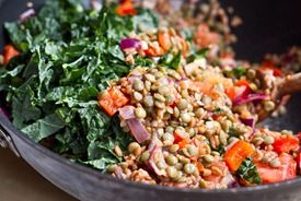 Protein Power Bowl: Yummy Breakfast, Yummy Salad, Kale Salad, Oh She ...
