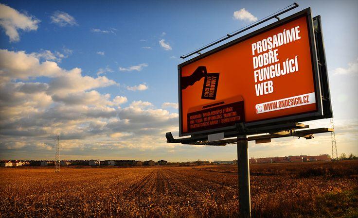 Billboard Ondesign.cz