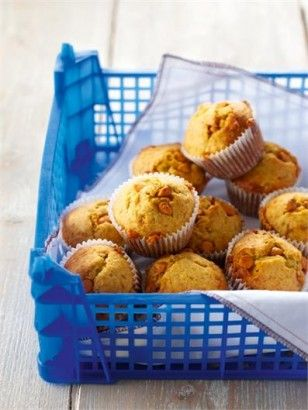 Banana Butterscotch Muffins: White chocolate morsels can be used in place of the butterscotch ones and my children seem to love both with equal fervour, though I'm pretty fond of these with dark chocolate chips, too.