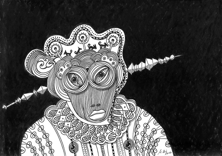 """""""dark king"""", #Zeichnung #Pigmenttusche (Staedtler Pigment Fineliner) auf #Hahnemühle #Papier """"Nostalgie"""", 190 g/m2 21 x 29,7 cm, © #matthias #hennig 2017    """"dark king"""", #india #ink #drawing (Staedtler Pigment Fineliner) on Hahnemühle #paper """"Nostalgie"""",190 g/sqm 21 x 29,7cm, © #matthias #hennig 2017 #myStaedtler #hennigdesign #artwork #moremoneyforartists #whatsnext"""