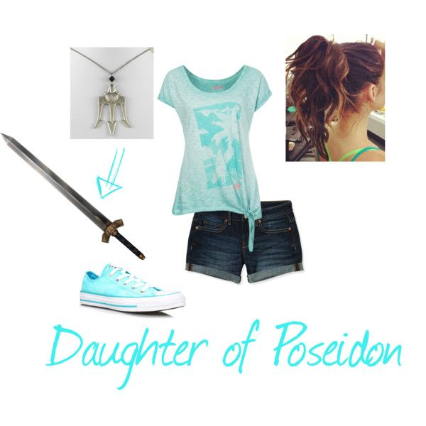 """""""Daughter of Poseidon: casual"""" by sparkleowner on Polyvore"""