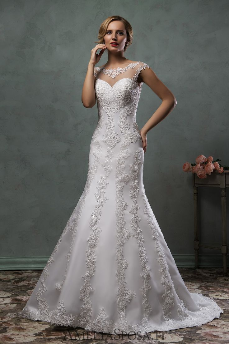 Wedding Dress Simona, Silhouette: Sheath / Mermaid
