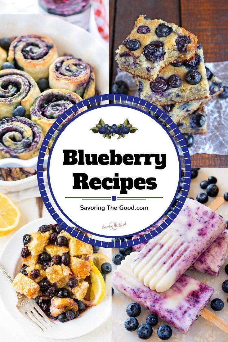 Blueberry picking season is one of my favorite seasons! Nothing beats plucking sun warmed blueberries fresh from the bush. Once our buckets are overflowing it is time to take our blueberries home and use them in sweet and savory recipes. I searched Pinter