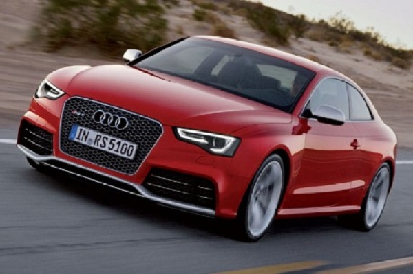 """2013 Audi RS5 has been released officialy in the market in june, 2012 with the price of £ 58.725. Audi RS5 is the latest family's member of Audi A5. The performance of 2013 Audi RS5 gets revised significantly such as Single-framed grille made sharper, clearer contours of the engine hood, new front bumper and rear bumper,  row of LED lights on the front / rear, and the wheels 19 """"with 10-spoke."""