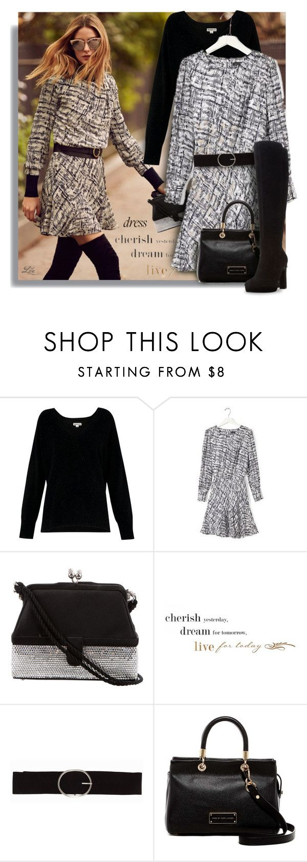 """Best Trend of 2016"" by breathing-style ❤ liked on Polyvore featuring Banana Republic, Whistles, Judith Leiber, WALL, Vero Moda, Marc by Marc Jacobs and Dune"
