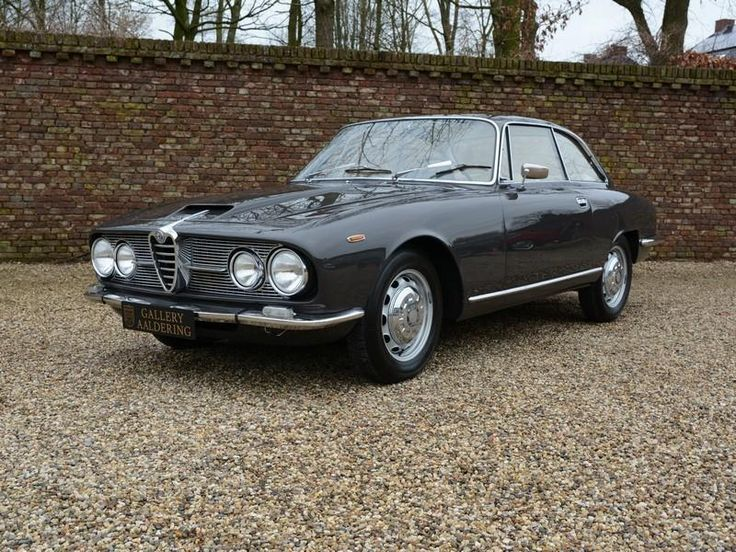 1966 Alfa Romeo 2600 Sprint Swiss Car
