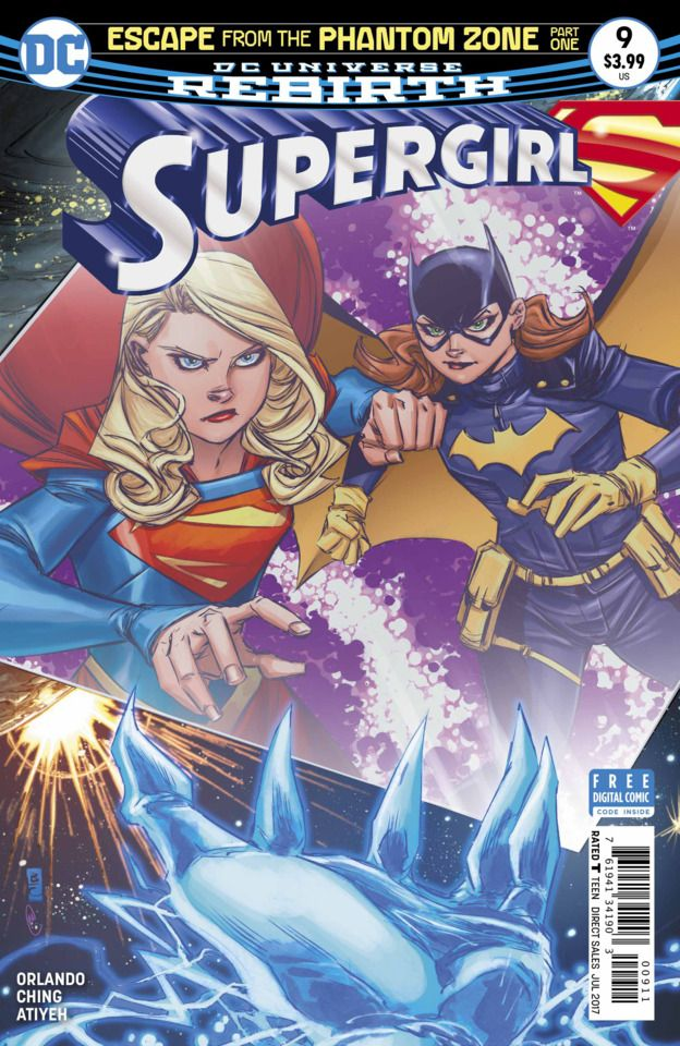 Supergirl #9 - Escape From the Phantom Zone Part One (Issue)