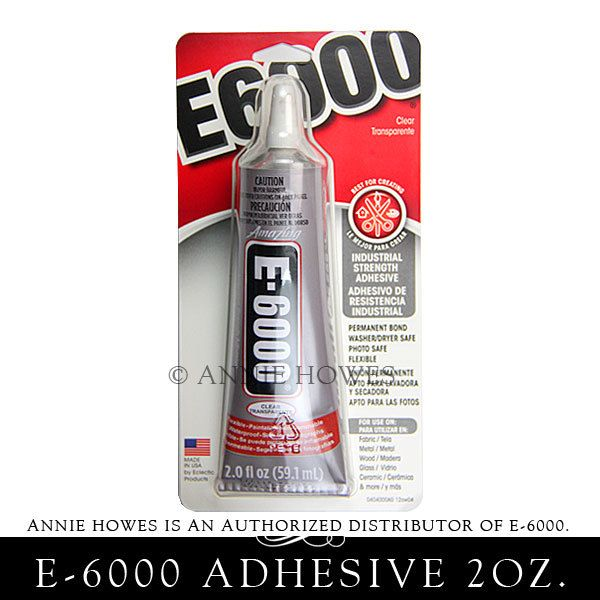 New to AnnieHowes on Etsy: E-6000 Jewelry and Craft Adhesive 2 oz Tube. Annie Howes is an Authorized Distributor of E6000. Made in USA. (3.75 USD)