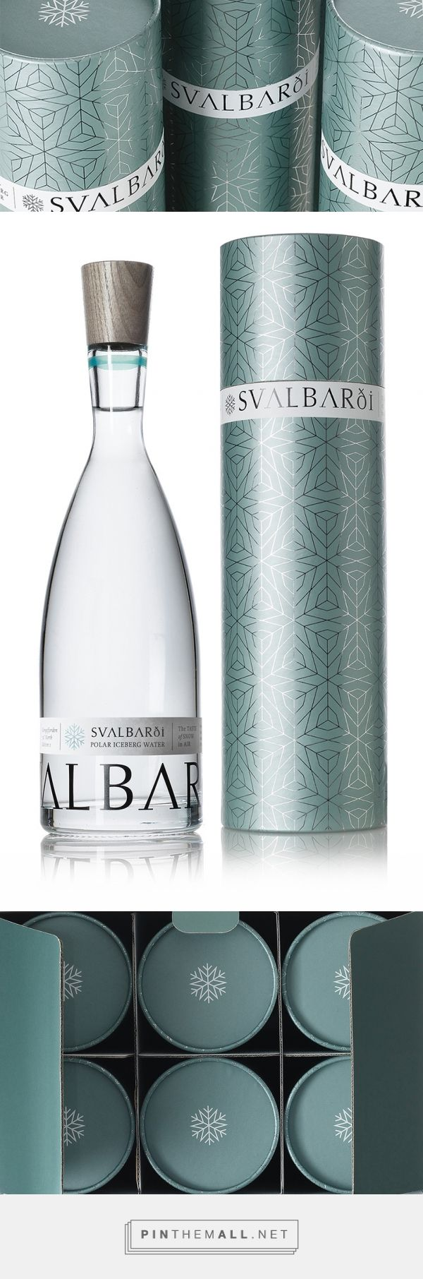 Svalbardi Polar Iceberg Water — The Dieline - Branding & Packaging - created via https://pinthemall.net
