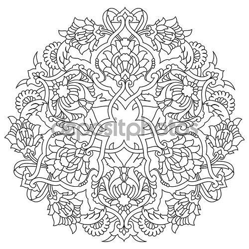 En güzel dekorasyon paylaşımları için Kadinika.com #kadinika #dekorasyon #decoration #woman #women lines artistic ottoman pattern series fifty five