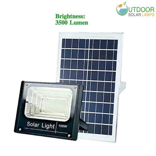 100w F Series Solar Flood Light W Remote Controller Solar Flood Lights Outdoor Solar Lamps Solar Led Lights