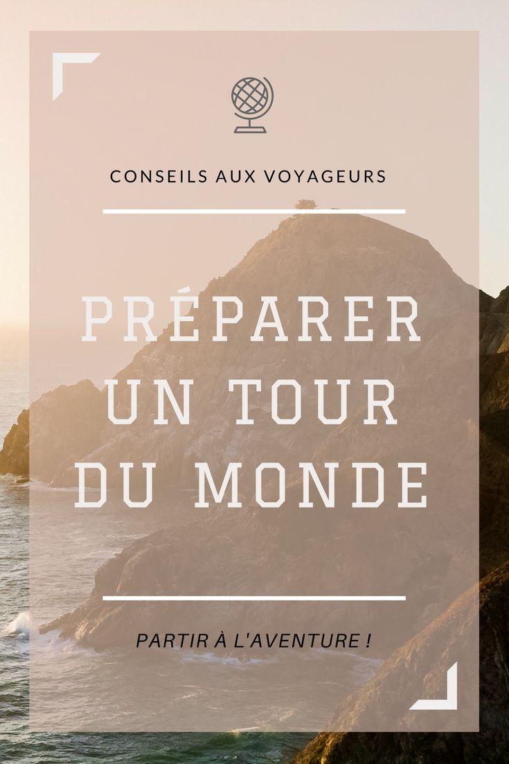 Dossier complet pour préparer un tour du monde ou voyage au long cours. Budget, itinéraire, vaccins, etc. via @chauxmelemonde