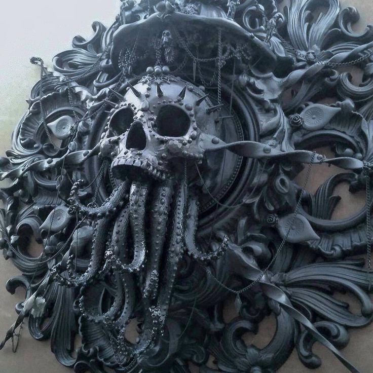 Cam Rackam-http://www.steampunktendencies.com/.../cthulhu-sculpture...