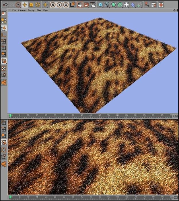 Fur in Cinema 4D
