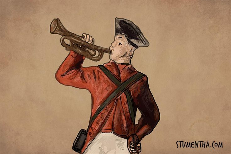 Another sketch from the deranged mind of playwright Stu Mentha. In the days of muskets and cannons why did soldiers line up to die? Why line up at all?