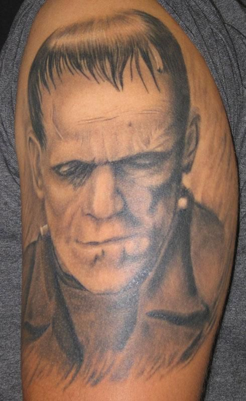 140 best images about Frankenstein Tattoos on Pinterest ...  140 best images...