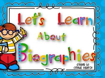 This unit includes a Power Point Presentation to use each day for 5 days to walk your students through the process of learning to write a biography.    Day #1 - What is a Biography Day #2 - Researching Day #3 - Rough Draft Day #4 - Revising and Editing Day #5 - Biography Presentation  Lesson Plans are included for each of the 5 days and include: Parent Letter Rubric for scoring Daily activities  A Research Book for the students final presentation is also included.