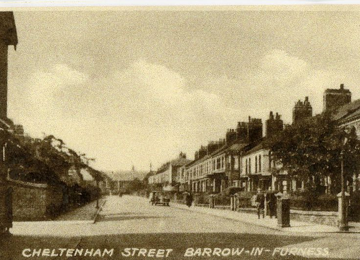 cheltenham street barrow in furness 1930s