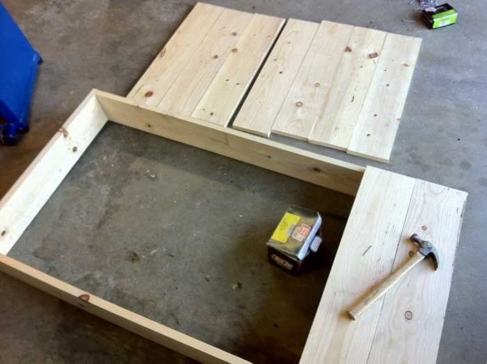 Warehouse Cart Coffee Table Pt 1