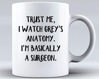 Vertrauen Sie mir ich beobachte Greys Anatomy von cutemugsandthings