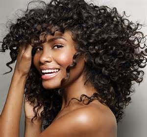 Model rambut curly Curls with a twist