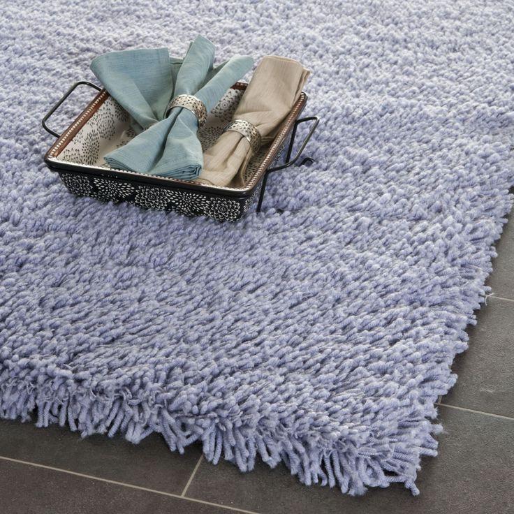 safavieh classic plush handmade super dense lilac purple shag rug 6u0027 x 6u0027