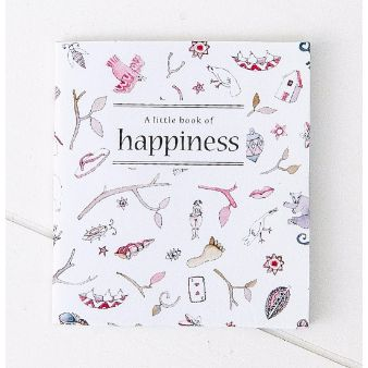 Book - A Little Book of Happiness - White Apple Gifts
