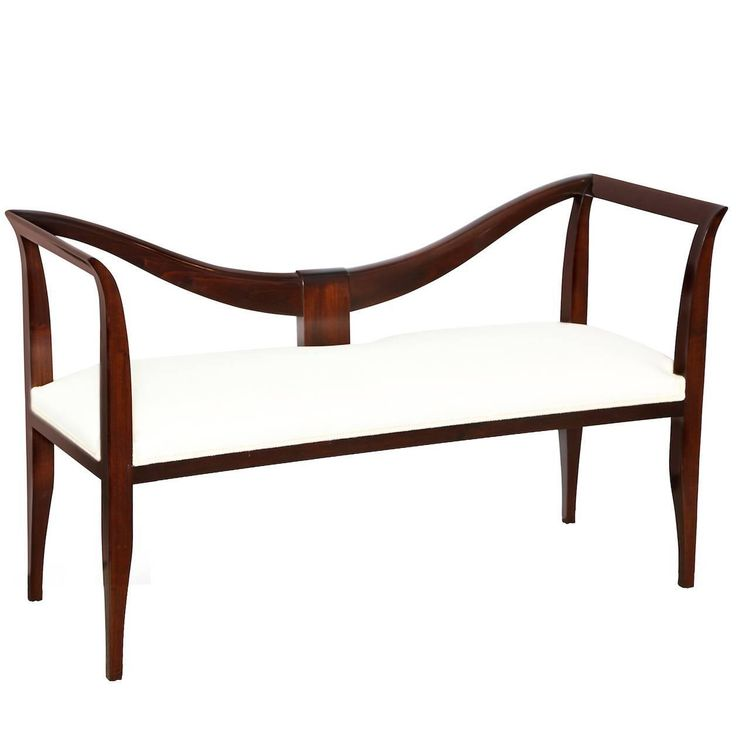 Hall Bench by Emilio Lancia   From a unique collection of antique and modern benches at https://www.1stdibs.com/furniture/seating/benches/