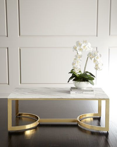 Bernhardt Marquis Marble Coffee Table                                                                                                                                                                                 More