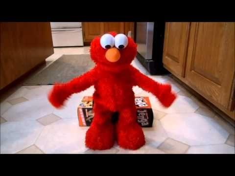 2007 Fisher-Price Mattel Sesame Elmo Live Encore