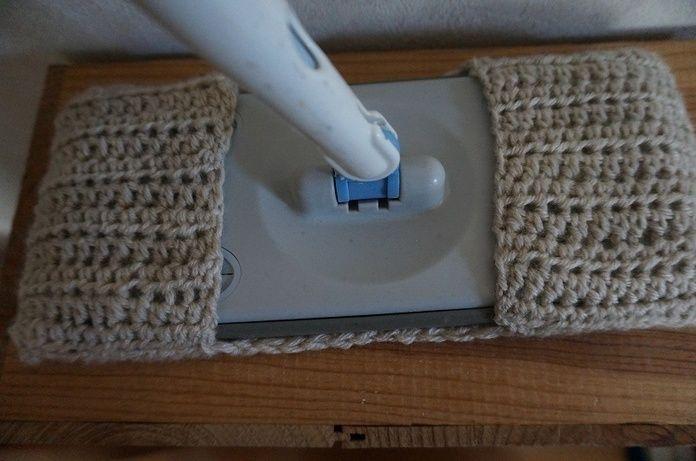 余り毛糸で床掃除シートを編んでみて。初心者さん向け編み方講座   iemo[イエモ]