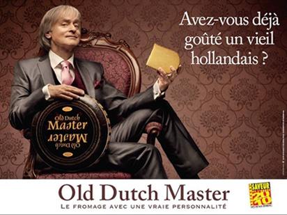 La publicité de Dave pour le fromage Hollandais !!!!! infamie en France