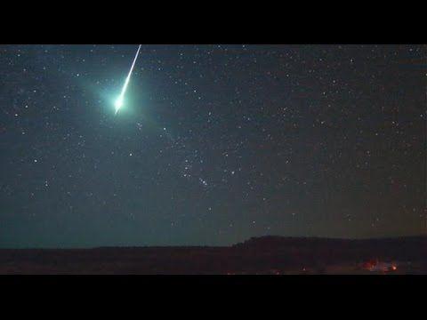 MOMENTO en el que cae Meteorito en Argentina | Luz verde INCREÍBLE 30/07...