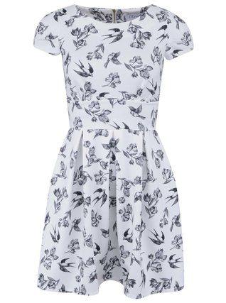 Closet - Bílé šaty s ptáčky - 1