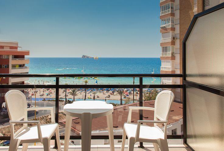 Terraza con vistas al mar - Hotel RH Corona del Mar Benidorm