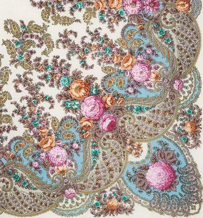удивительно, каким красивым может быть обычный платок...