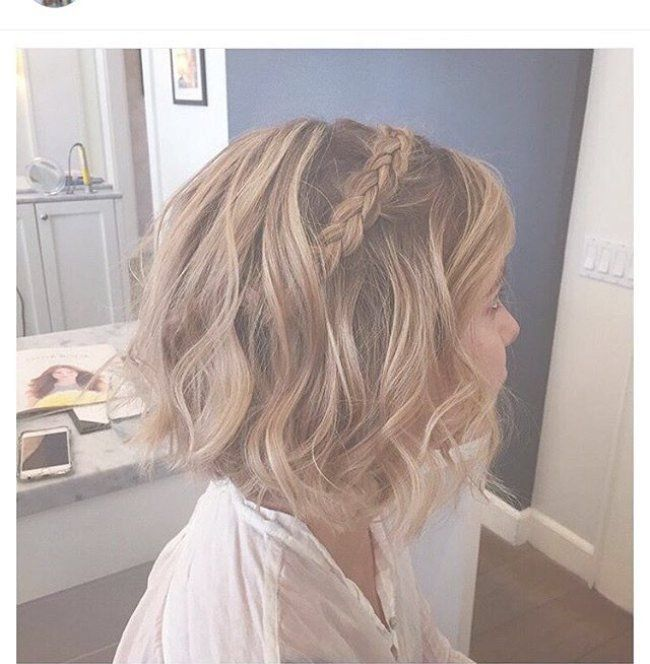 New 30 Best Dance Hairstyles For Short Hair Exemple Pin By Pat Valentine On Wedding Ideas In Braids For Short Hair Hair Styles Bridal Hair Bobs
