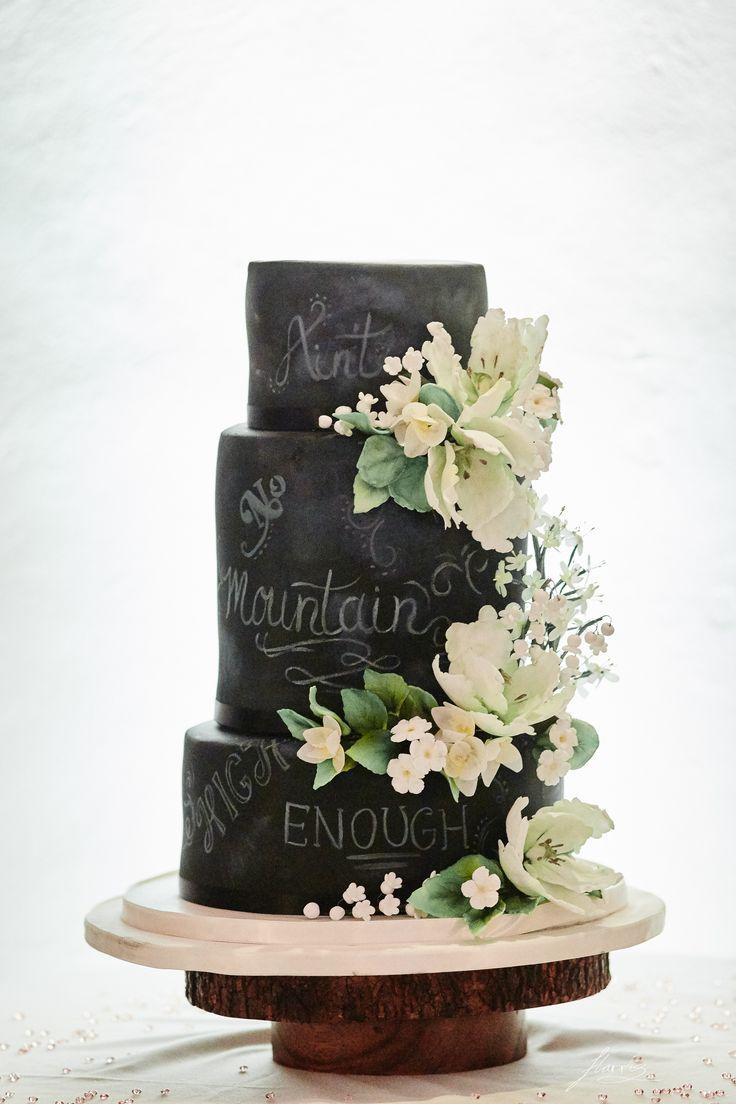 Wedding cake at Shrigley Hall.
