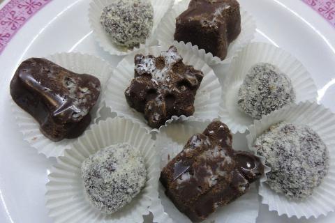 Jak udělat čokoládové lanýže | recept