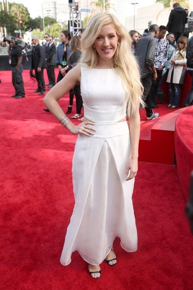 Ellie Goulding   All The Looks From The MTV Movie Awards Red Carpet