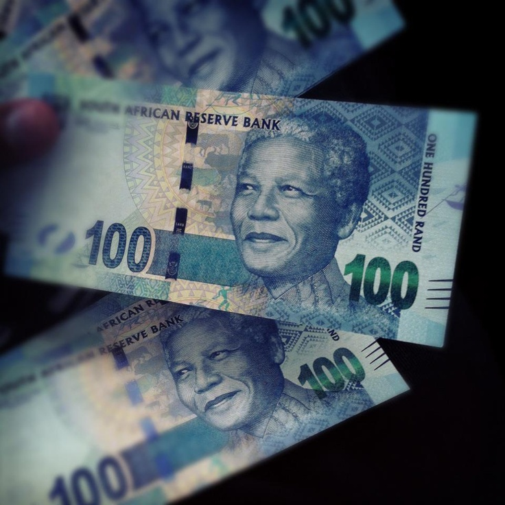 These are the new South African Bank Notes... Nelson Mandela FTW - Imgur