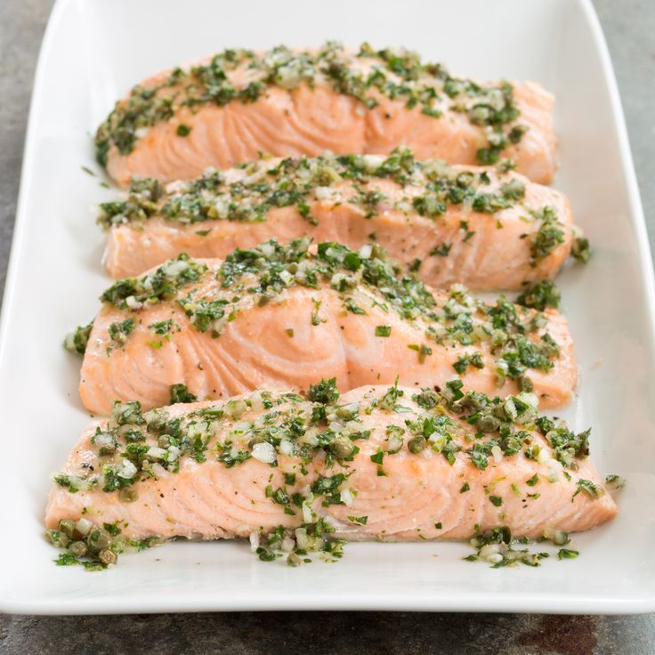 A slow cooker is the perfect vehicle for poaching salmon (and other fish) as it requires less monitoring than the classic stovetop method but can yield comparable results with less chance of overcooking.