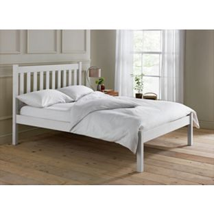 Buy Silbury Kingsize Bed Frame-Solid Pine With Whitewash Effect at Argos.co.uk - Your Online Shop for Bed frames.