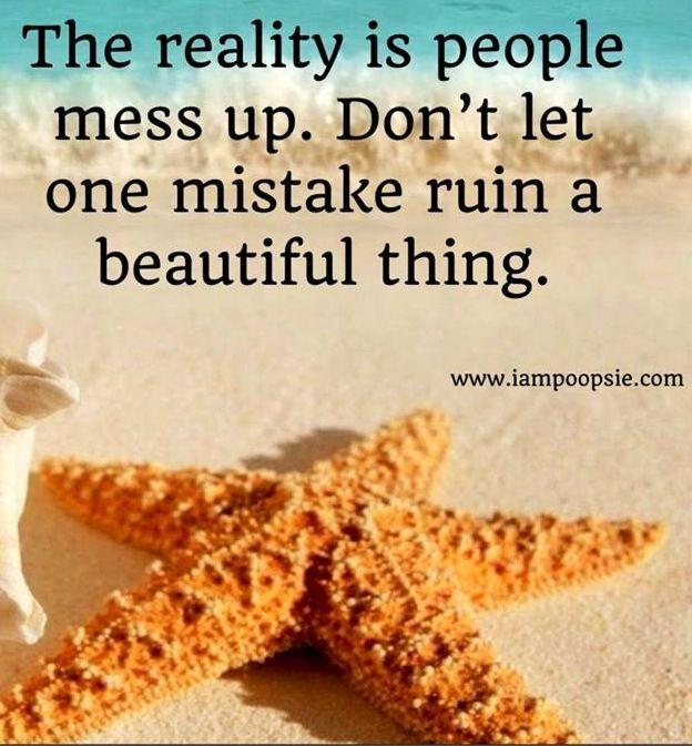Mistake quote via www.IamPoopsie.com