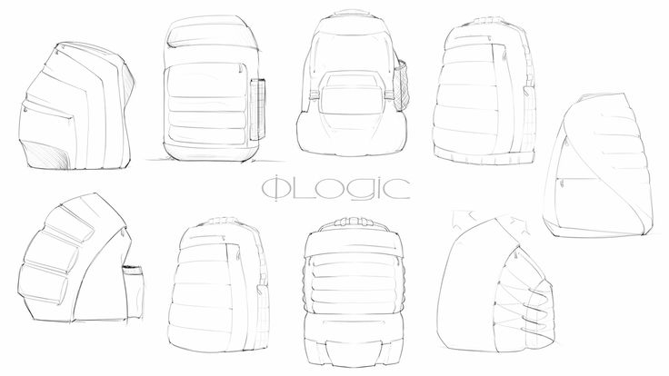 Product Design: Soft Goods backpack concepts